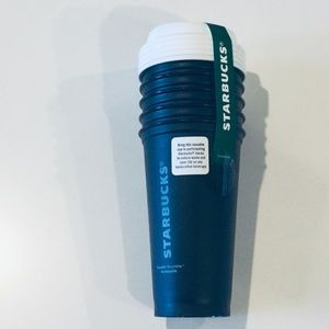 Starbucks Reusable 16 oz To-Go Cups (5 cups)